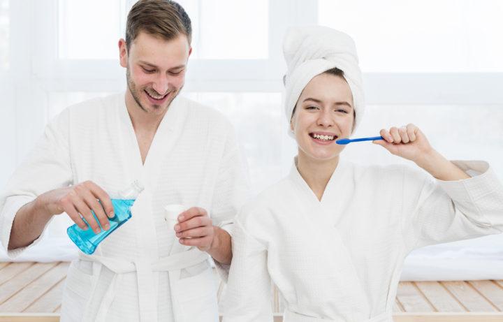 How to use mouthwash properly